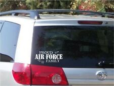 Proud Air Force Family Decal Bumper Sticker Car Window