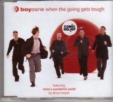 (BJ545) Boyzone, When The Going Gets Tough - 1999 CD