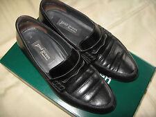 "elegante ""Paul Green"" Echtleder-Damenslipper Gr. 36,5, schwarz, weich, neuwertig"