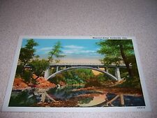 1940s MEMORIAL BRIDGE BARTLESVILLE OKLAHOMA VTG POSTCARD