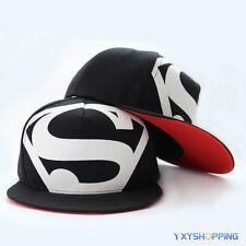 Unisex Superman Snapback Verstellbar Hiphop Cap Basecap Mütze Kappe Rucker Hut
