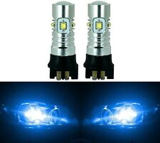 LED 30W 12177 PW16W Blue 10000K Two Bulbs Back Up Reverse Light Audi BMW