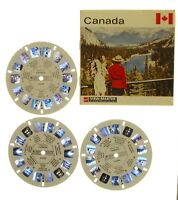 View-master - GAF - Canada - 3 disques - 21 photos en relief - complet