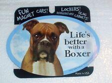 Boxer LIFES BETTER Fridge Magnet