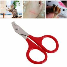 Nail Clippers Pet Cat Dog Safety Stainless Steel Nails Care Scissors Trimming