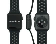 Apple Watch Series 3 nike+, 38mm in Grau, Schwarz vom Händler MTF12ZD/A