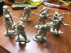 Barzso French & Indian War 9 French Infantry in All Poses Mint
