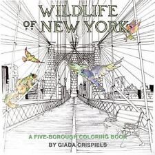 Wildlife of New York by Shannon Lee Connors (Coloring Book)