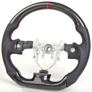 The New Design Carbon Fiber Steering Wheel Fit  Subaru Legacy Forester WRX STI