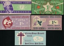 SOUTH AFRICA CHRISTMAS STAMP BOOKLETS CINDERELLAS 1947/61