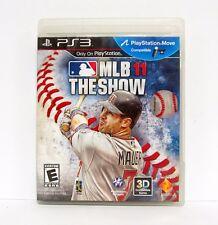 MLB 11: THE SHOW Playstation 3 PS3 Game Move BASEBALL 2011