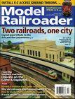 Model Railroader Magazine October 2018 Install E-Z Access Ground Throws