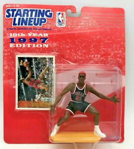 AWESOME Rare HTF 1997 Dennis Rodman Blonde Chicago Bulls Starting Lineup SLU