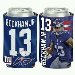 ODELL BECKHAM JR NEW YORK GIANTS  CAN BOTTLE COOZIE COOLER FREE SHIPPING!