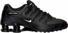 Nike Shox NZ EU Running Shoes (501524-091) Black/White/Black Mens Sz 8