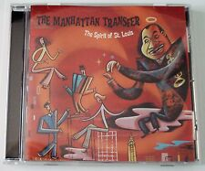 THE MANHATTAN TRANSFER - THE SPIRIT OF ST. LOUIS - 2000 -  CD - LIKE NEW