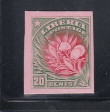 Liberia # 120 Color Trial On Card in Green & Red Flora Pepper Plant