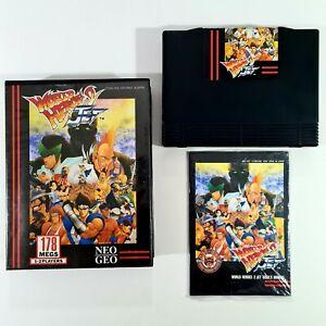 ©SNK 1994 Neo Geo AES Cartridge WORLD HEROES 2 JET us Arcade 2D Beat'em Up