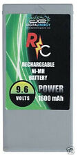 NEW RC Digital Energy Rechargeable NI-MH Battery 9.6 Volts 1600 mAh