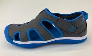 Keen Stingray Youth Gray Blue Sandals Sz US 7