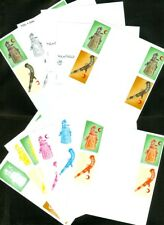EDW1949SELL : MOROCCO 1974 Sc #B31-32 Art. Collection of progressive color proof