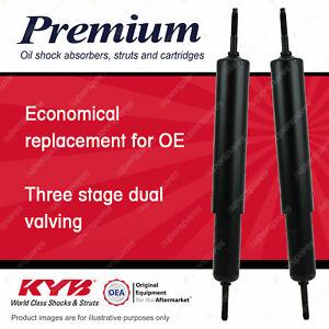 2 x Rear KYB PREMIUM Shock Absorbers for VOLVO 66 B130 1.3 I4 RWD Sedan 75-78