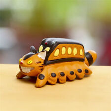 Studio Ghibli My Neighbor Totoro Cat Bus Figure Toy Figurine Home Garden Decor