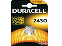 1 Duracell Lithium CR2430 3V Coin Cell battery DL2430 ERC2430 K2430L Expire 2025