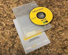 Microsoft Office: Mac V. X Suite for Mac OS X w/Booklet, Case, & Key X09-07872-M