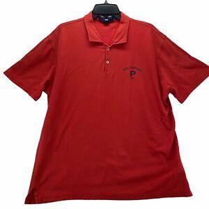 Ralph Lauren Polo Sports Men's Short Sleeved Polo Shirt Size 2XL Red Cotton