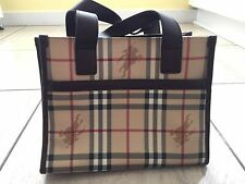 NEW Small Vintage Burberry Tote Bag