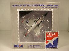 DARON MODERN ERA F-4B PHANTOM SUNDOWNERS 1:155 SCALE DIECAST DISPLAY MODEL
