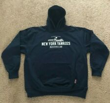 AUTHENTIC MAJESTIC YANKEES HOODED SWEATSHIRT SIZE XXL 2010 PLAYOFFS *WITH TAGS*