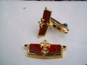 NEW 1977 1990 CHEVROLET CAPRICE TRUNK AND FRONT MAROON RED LOCK EMBLEM CHEVY