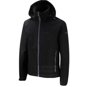 CRAGHOPPERS Black Men's AQUADRY Strider Jacket ~ Size LARGE ~ BNWT