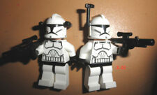 STAR WARS LEGO figure AOTC CLONE TROOPER toy mini ARMY builder soldier LOT