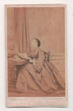 Vintage CDV Queen Alexandra of Great Britain Mayall Photo