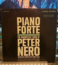 Piano Forte The Magnificent Piano of Peter Nero with Marty Gold's Orchestra LP