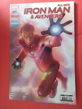 MARVEL ALL NEW - IRON MAN & AVENGERS - 2016 - PANINI COMICS - VF - N°1 - M05082