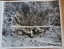 WWII BURMA PHOTO - 71st LIASION SQUADRON L4 CUB PLANE 1943 Ledo Road