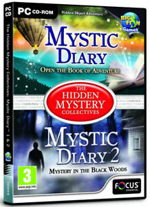 The Hidden Mystery Collectives Mystic Diary 1 & 2 (PC GAME) NEW & SEALED