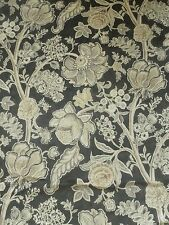Sanderson Curtain Fabric SHALIMAR Graphite/Mole Velvet Art of the Garden Per Mtr