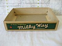 vintage candy bar Box Milky Way