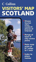 (Good)-Visitors' Map Scotland (Route Planning Map S.) (Map)--0007206364