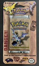1999 Pokemon Fossil Sealed Blister Pack Aerodactyl  CRISP & CLEAN UNOPENED-MINT!