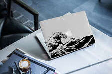 Decal for Macbook Pro Sticker Vinyl mac funny air jdm 13 15 hokusai wave japan