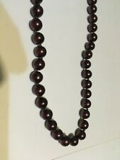 Fashion Jewelry-Necklace- Bronze Colored Pearls