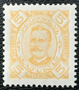 PORTUGUESE GUINEA Sc#32 1894 King Luis I of Portugal Mint Hinge rem. OG VF 20-60