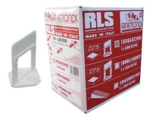 RAIMONDI RLS Levelling Spacer Clips - 3-12mm - 2400 Pieces - tilers tiling tools