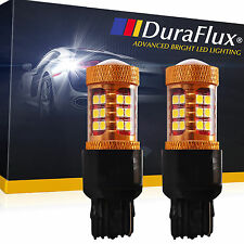 DuraFlux New 7440 7443 T20 White 140W OSRAM LED Backup Reverse Light Bulb 2000LM